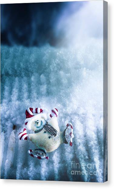 Ice Skating Canvas Print - On The Ice by Jorgo Photography - Wall Art Gallery