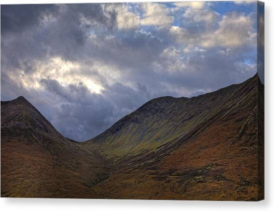 On The Isle Of Skye Canvas Print by Jim Dohms