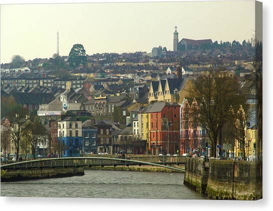 On The River Lee, Cork Ireland Canvas Print
