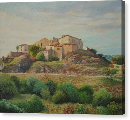 On The Road To Manosque I Canvas Print