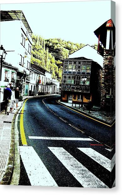 Canvas Print featuring the photograph On The Road by HweeYen Ong