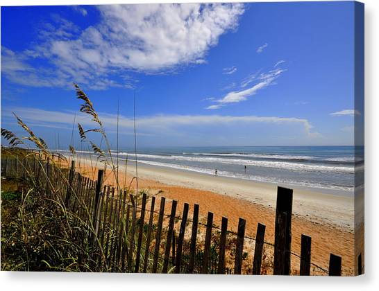 Flagler Beach Canvas Print - On The Side Of High Tides by Andrew Armstrong  -  Mad Lab Images