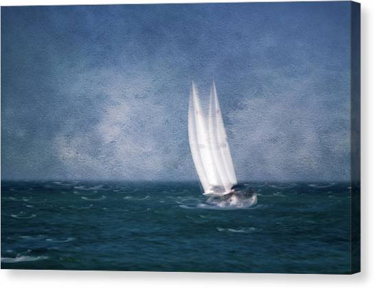 On The Sound Canvas Print