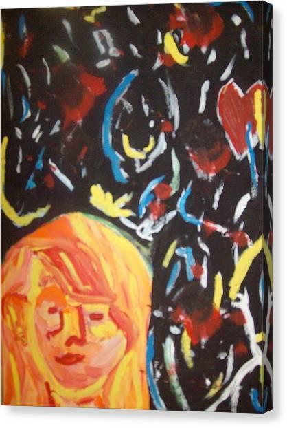 On This Sleepless Night Canvas Print by Samantha  Gilbert
