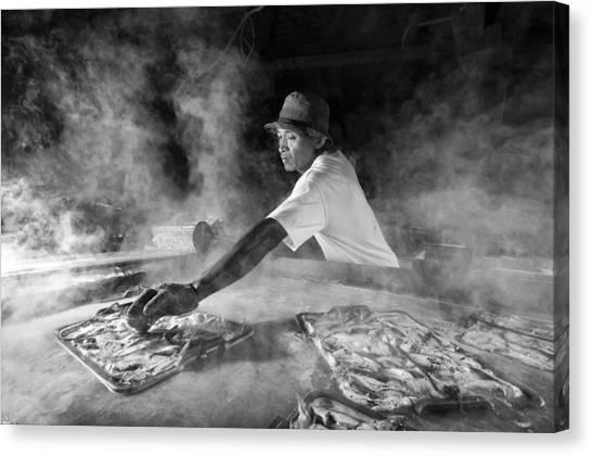 Fish Canvas Print - On Work by Antonyus Bunjamin (abe)