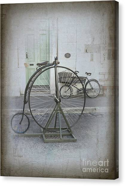 On Your Bike Canvas Print