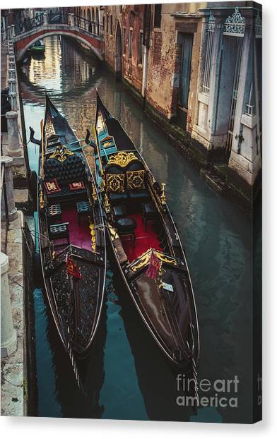 Once In Venice Canvas Print