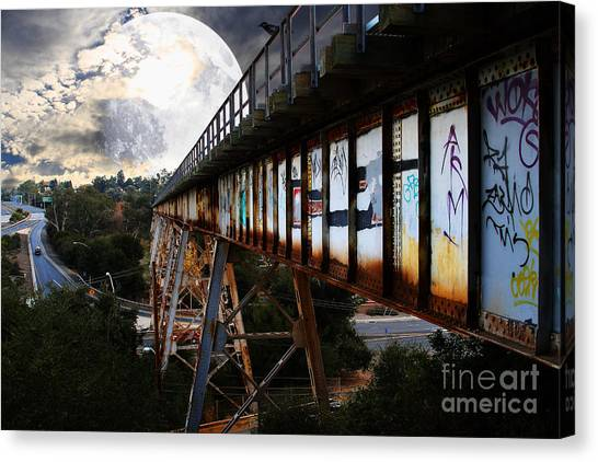 Once Upon A Time In Any Town Usa Canvas Print