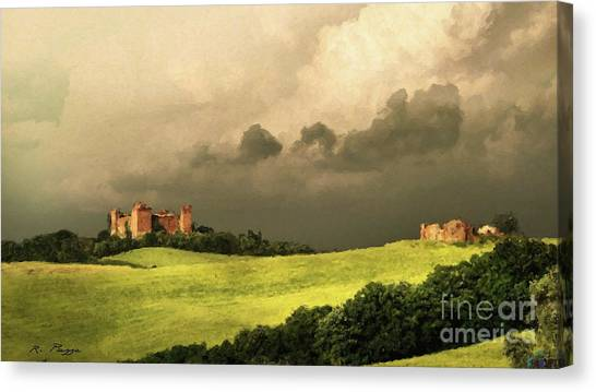Once Upon A Time In Tuscany Canvas Print