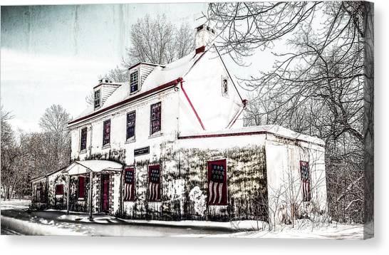 Vennell Tavern House 1795 Canvas Print