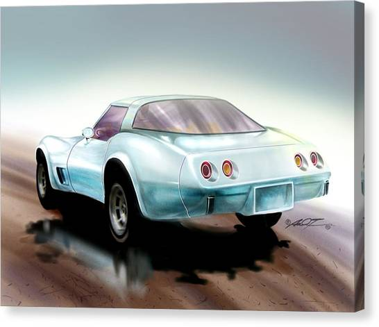 Once You Have Owned A Vette... Canvas Print