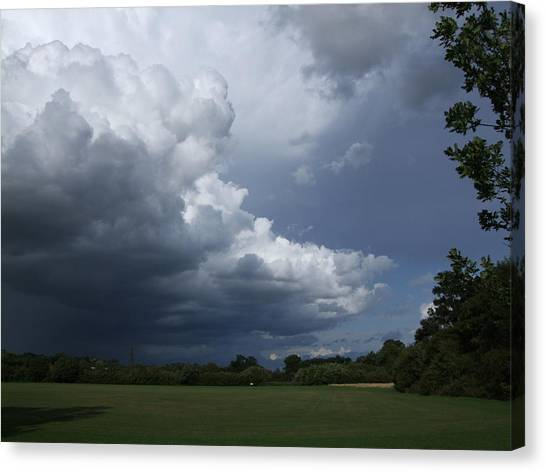 Oncoming Storm Canvas Print by Deborah Brewer