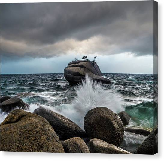 Oncoming Storm Canvas Print