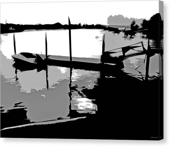 One Boat Canvas Print