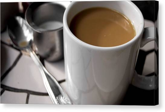 One Cup Of Coffee Canvas Print by JAMART Photography