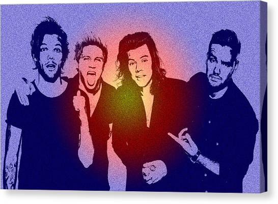 One Direction Canvas Print - One Direction by Chris Smith