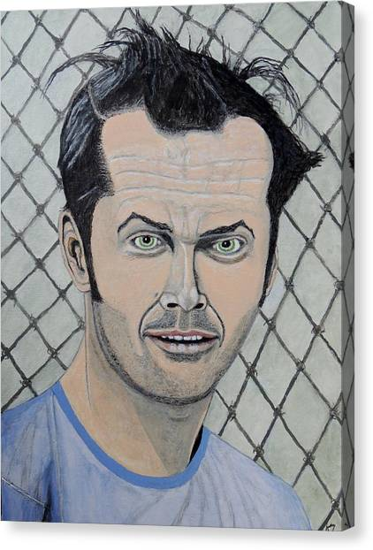 One Flew Over The Cuckoo's Nest. Canvas Print
