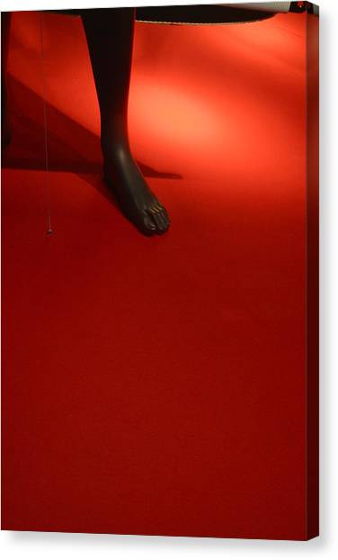 One Foot Forward Canvas Print by Jez C Self