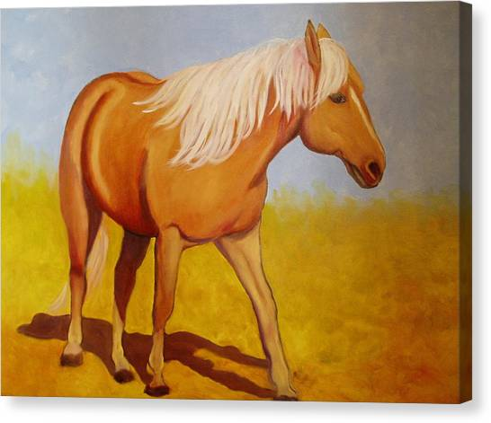 One Foot In Front Of The Other Canvas Print