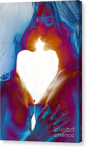 One Heart Canvas Print