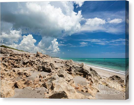 Landscapes Canvas Print - One Hot Summer Day by Michelle Wiarda-Constantine