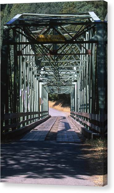 Honeydews Canvas Print - One Lane Bridge - Honeydew by Soli Deo Gloria Wilderness And Wildlife Photography
