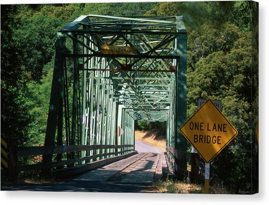 Honeydews Canvas Print - One Lane Bridge by Soli Deo Gloria Wilderness And Wildlife Photography