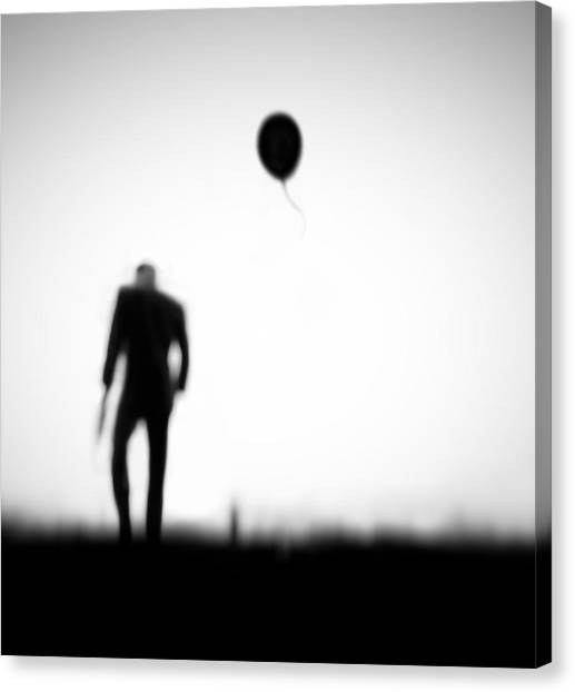 Balloons Canvas Print - One Last Chance by Hengki Lee