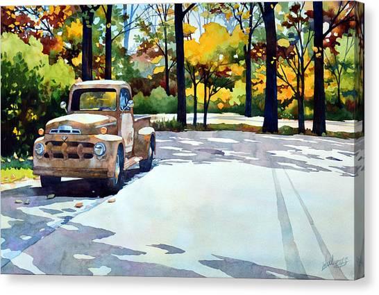 One Last Ride Canvas Print