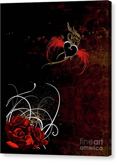 One Love, One Heart Canvas Print