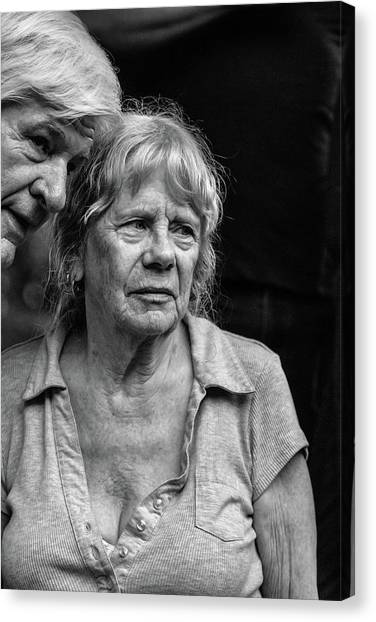 One Moment In Time Canvas Print by John Haldane