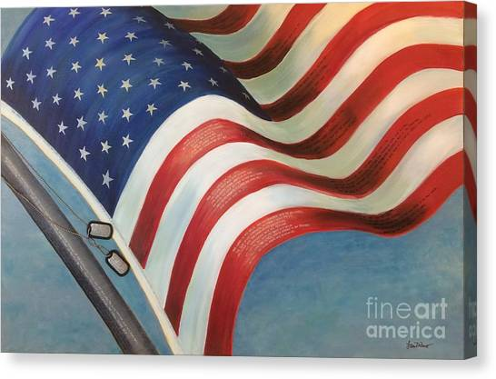 One Nation Under God Canvas Print