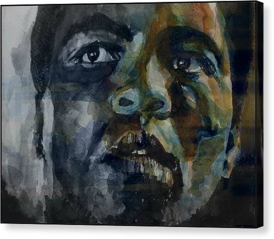Boxing Canvas Print - One Of A Kind  by Paul Lovering