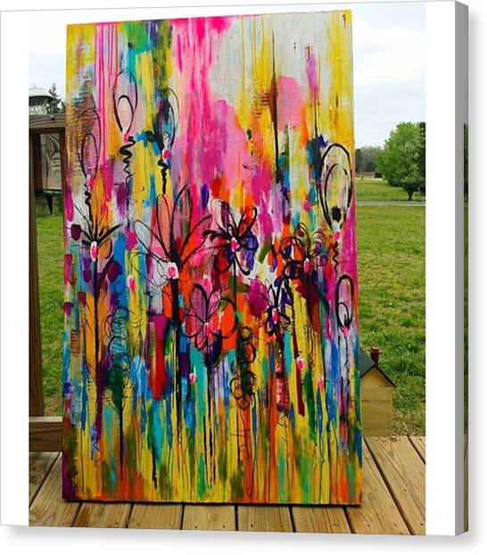 Canvas Print - One Of My Biggies For @sgagos  Spring by Robin Mead