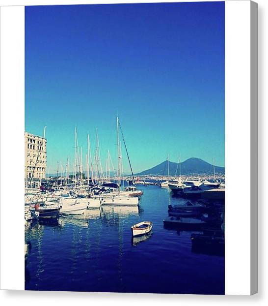 Vulcans Canvas Print - One Of The Most Beautiful Cities In The by Martina Miharu
