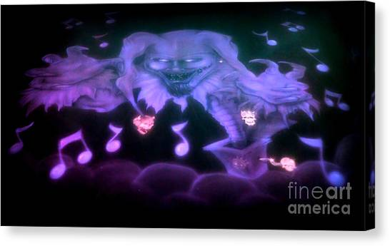 One Scary Jack-in-the-box 2 Canvas Print