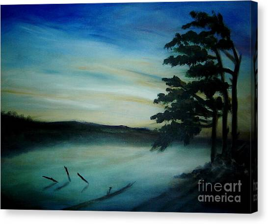 One Sided Canvas Print by Vivian  Mosley