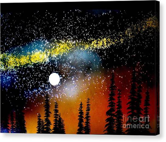 One Summer's Eve Canvas Print by Ed Moore