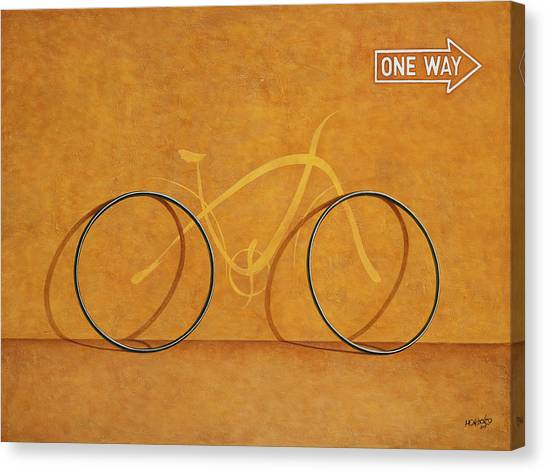 Canvas Print - One Way by Horacio Cardozo