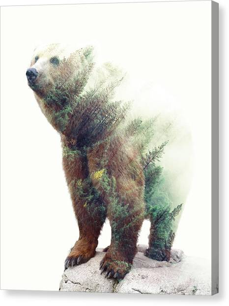 One With Nature V2 Canvas Print