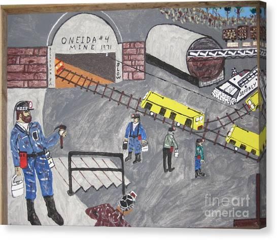 Canvas Print - Onieda Coal Mine by Jeffrey Koss