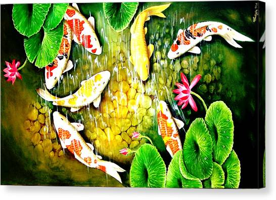 Only After The Last Fish Has Been Caugh  Canvas Print by Yuki Othsuka