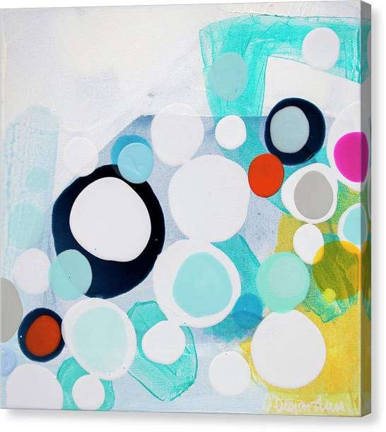 Canvas Print - Only Heartbeats Away by Claire Desjardins