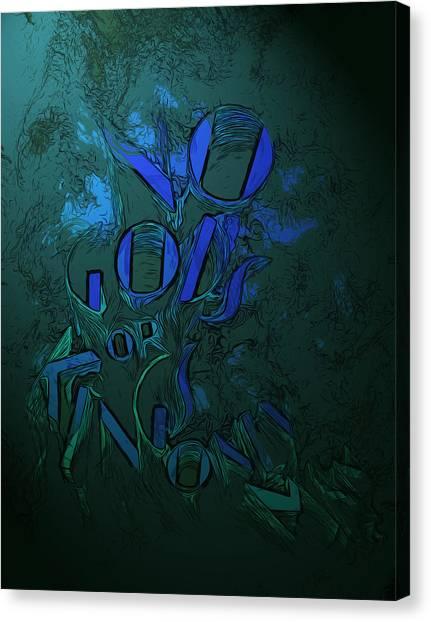 Bioshock Canvas Print - Only Man by Christopher Dyring