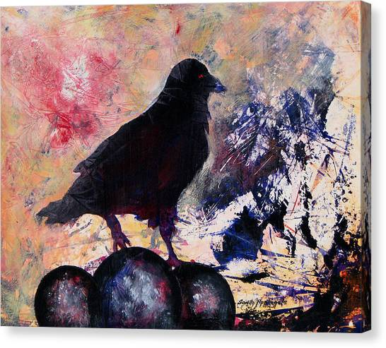 Only This Canvas Print by Sandy Applegate