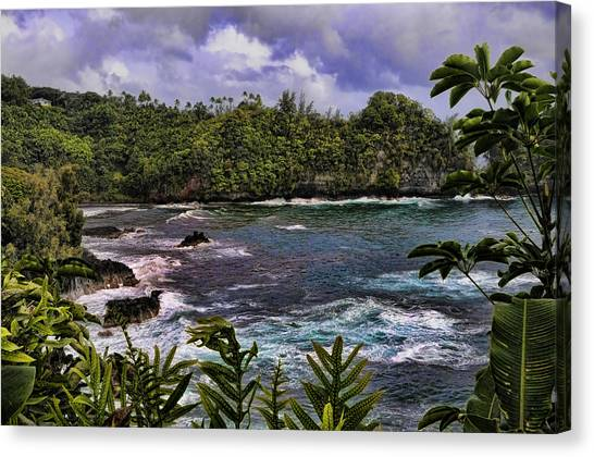 Onomea Bay Hawaii Canvas Print