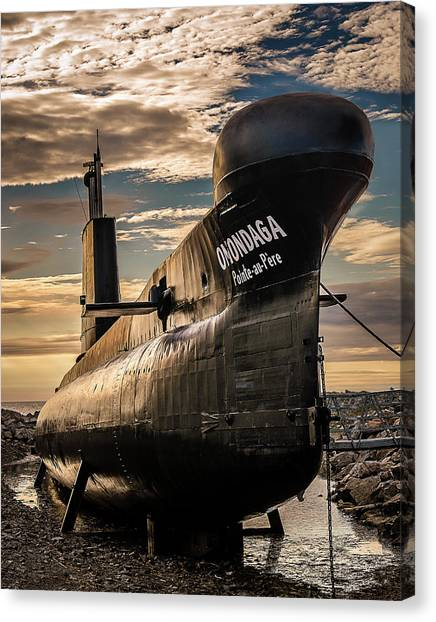 Onondaga Submarine Canvas Print