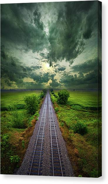 Onward Canvas Print