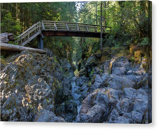 Opal Creek Bridge Canvas Print