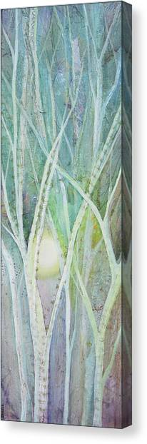 Cloudy Canvas Print - Opalescent Twilight II by Shadia Derbyshire